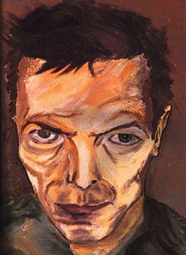 Davd Bowie Artartistsdavidbowiefigurativepaintingportrait-922ea88d5a95fc349047dd29283e374b_h