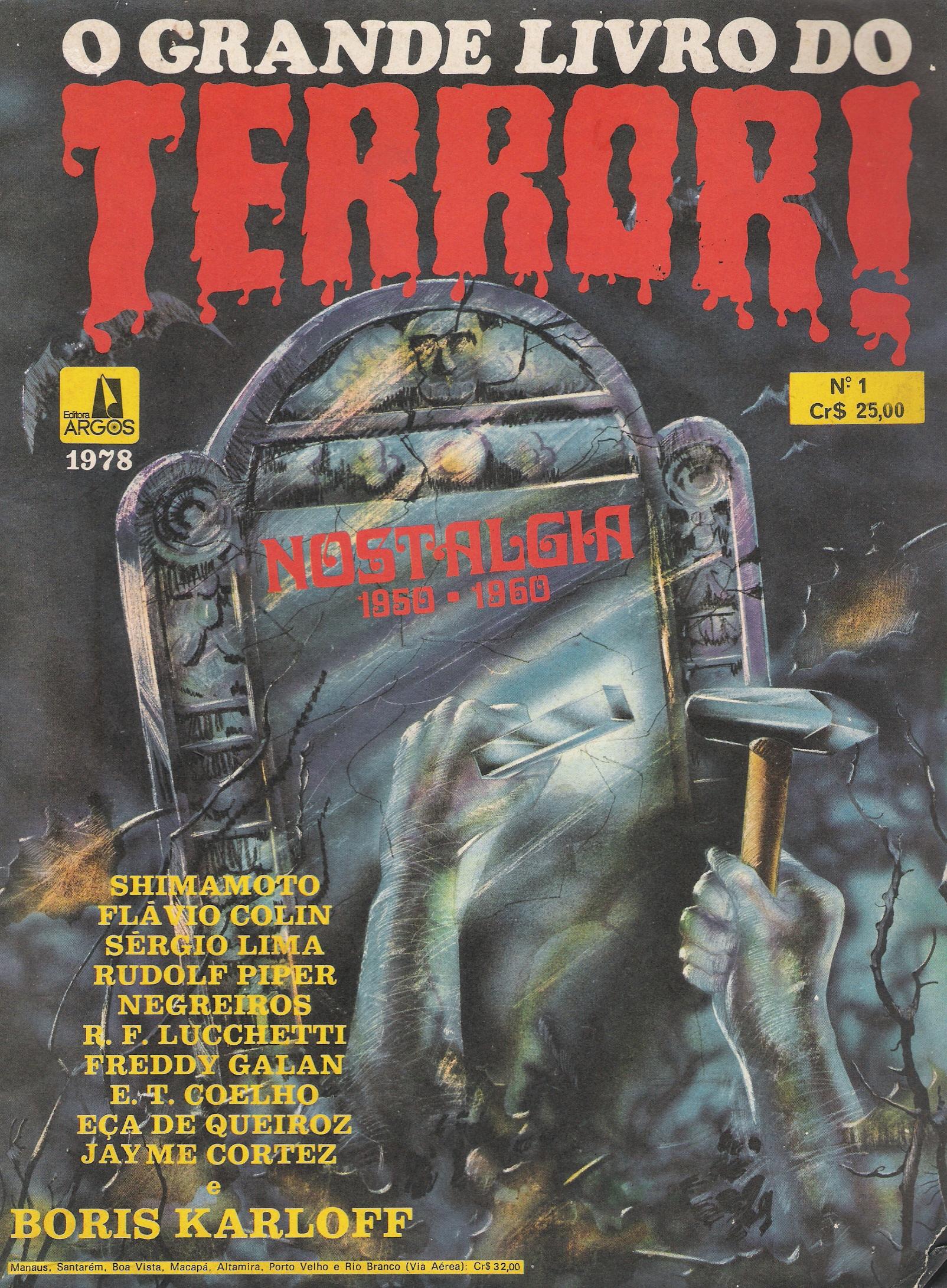 livro do terror
