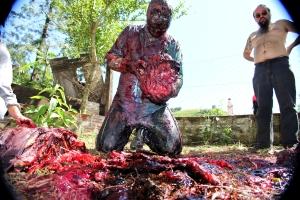 Adriano Trindade de Freitas e Petter Baiestorf em Zombio 2_Foto Andye Iore