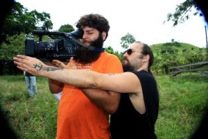 Diretor de fotografia Flávio Sperling e Petter Baiestorf_Foto Andye Iore