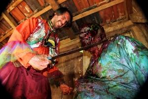 Elio Copini e Adriano Trindade de Freitas em Zombio 2_Foto Andye Iore