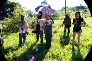 Petter Baiestorf dirigindo Zombio 2_Foto Andye Iore