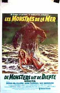 POSTER - HUMANOIDS FROM THE DEEP (2) - BELGIAN
