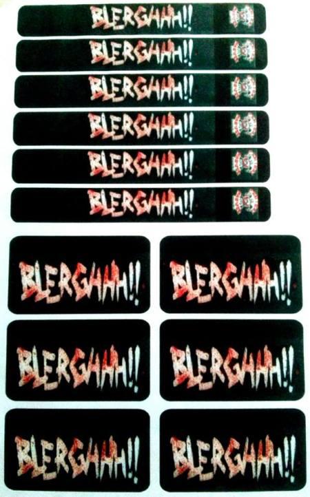 Lombada VHS- Blerghhh (1996)