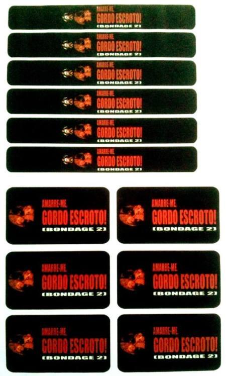 Lombada VHS- Bondage 2 Amarre-me Gordo Escroto (1997)