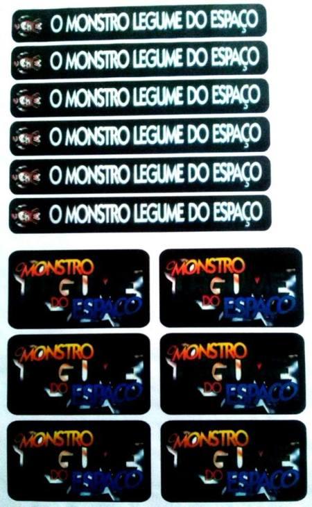Lombada VHS- O Monstro Legume do Espaço (1995)