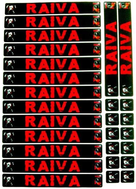 Lombada VHS- Raiva (2001)