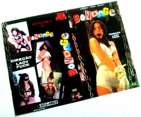 VHS Bondage parte 1 - Capa 2 (1996)