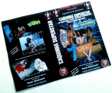 VHS- Caquinha Superstar a Go-Go (1996)