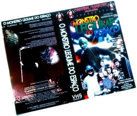 VHS- O Monstro Legume do Espaço (1995)