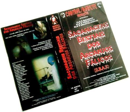 VHS- Sacanagens Bestiais dos Arcanjos Fálicos